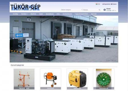 Tükör-Gép Webáruház