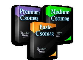 Webáruház csomagok - MagneShop