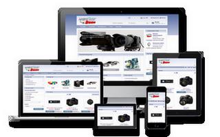 Reszponzív webáruház - MagneShop